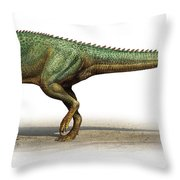 Skorpiovenator Bustingorryi Throw Pillow