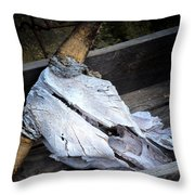 Skullduggery Throw Pillow
