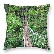 Sky Bridge 2 Throw Pillow