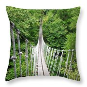 Sky Bridge Throw Pillow