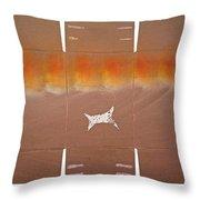 Sky Dive Throw Pillow