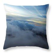 Sky Painting Throw Pillow