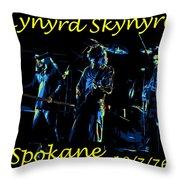 L S  In Spokane 1 Throw Pillow