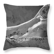 Slackjaw Throw Pillow