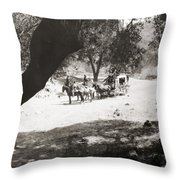 Slam-bang Jim, 1917 Throw Pillow by Granger