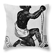 Slavery: Abolition, 1835 Throw Pillow
