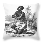 Slavery: Abolition Throw Pillow