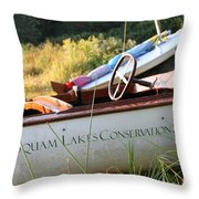Slcs Boat Throw Pillow
