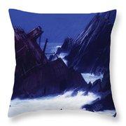 Slea Head, Dingle Peninsula, County Throw Pillow