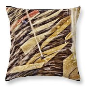 Sleep At Water Fountain Throw Pillow