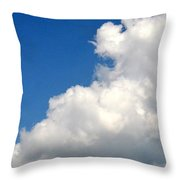 Sleeping Bear Cloud Throw Pillow