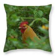 Slick Throw Pillow