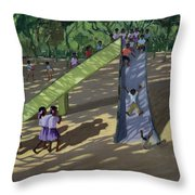 Slide Mysore Throw Pillow