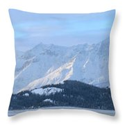 Slims River Valley, Kluane National Throw Pillow