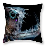 Sloanes Viperfish Throw Pillow
