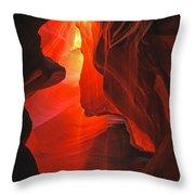 Slot Canyons - 502 Throw Pillow