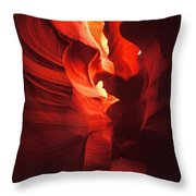 Slots On Fire Throw Pillow