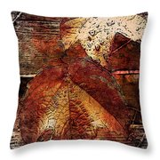 Slowly Dying Throw Pillow