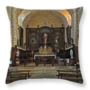 Small French Chapel Throw Pillow