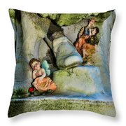 Small Gifts For The Departed Throw Pillow