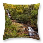 Small Stream Throw Pillow