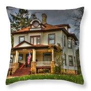 Small Town Patriotism Throw Pillow
