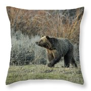 Smelling Something Good Throw Pillow
