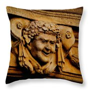 Smile Perpetuated Throw Pillow