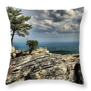Smiling In The Sky Throw Pillow