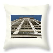 Smith Tower Throw Pillow