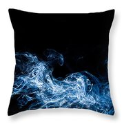 Smoke 7 Throw Pillow