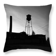 Smoke And Water Throw Pillow