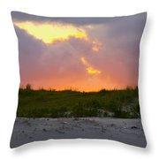Smoke From A Distant Fire Throw Pillow