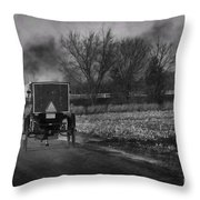 Smoke In The Air Throw Pillow