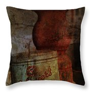 Smoke On The Porch  Throw Pillow