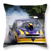 Smoke Show Throw Pillow