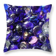 Smooth Stones Throw Pillow