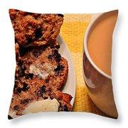Snack Time 3 Throw Pillow