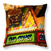 Sno Cones 4165 Throw Pillow