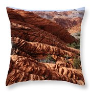 Snow Canyon 2 Throw Pillow