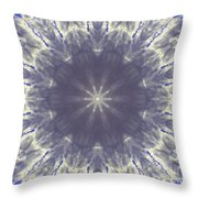 Snow Flake Crystal Throw Pillow