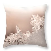 Snowland Throw Pillow