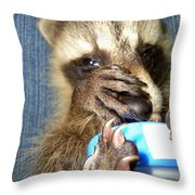 Snuggle Bug Throw Pillow
