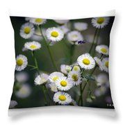 So Many Flowers So Little Time Throw Pillow