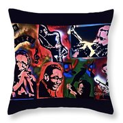So So Jazzy Throw Pillow