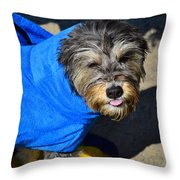 So There Throw Pillow