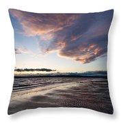 Soaring Beach Throw Pillow