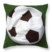 Soccer Ball Seat Cushion Throw Pillow