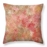 Soft Autumn Colors Throw Pillow