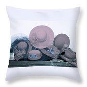 Soft Hats  Throw Pillow